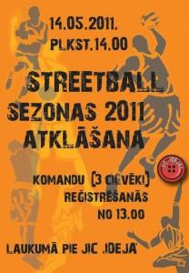 Streetball sezonas atklāšana