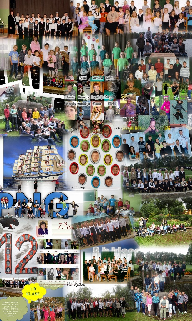 Klašu vizītkartes, Pļaviņu novada ģimnāzija, 2011