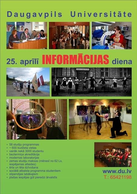DU Informācijas diena
