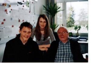 Juris Beķeris, Žanete Felsa un Kristaps Blitsons Kaltenkirhenē, 2012.gada pavasarī