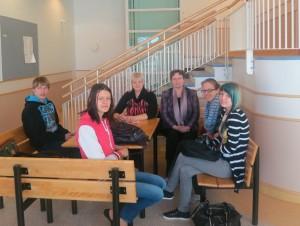 Mūsu grupa Hakarinteen skolā