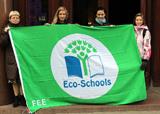 Ekoskola saņem zaļo karogu