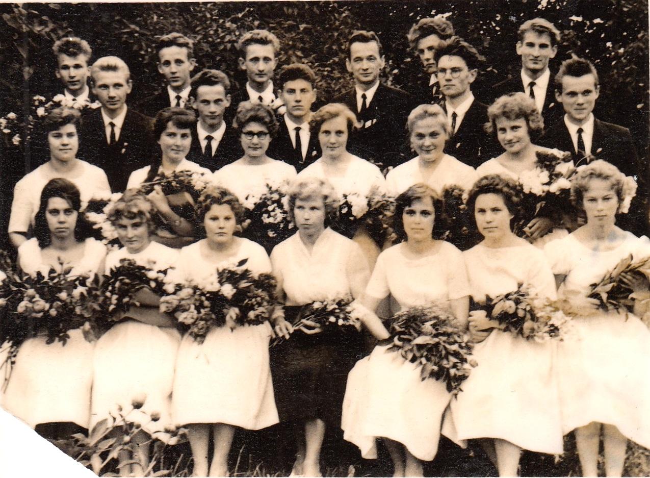 1962.gada 38.izlaidums, klases audzinātāja Ranta Knauere