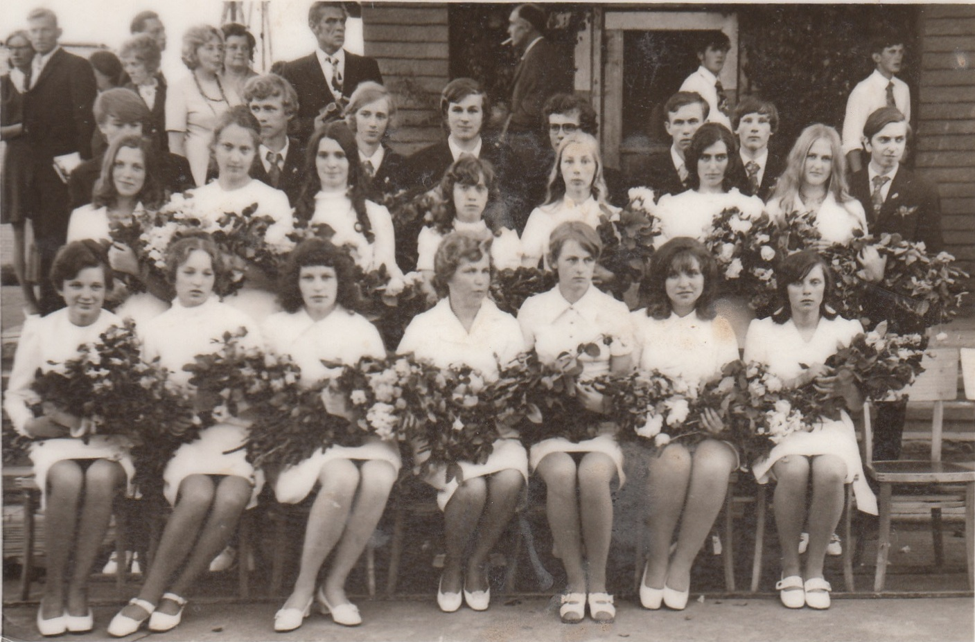 1973.gada 48.izlaidums klases audzinātāja Ranta Knauere