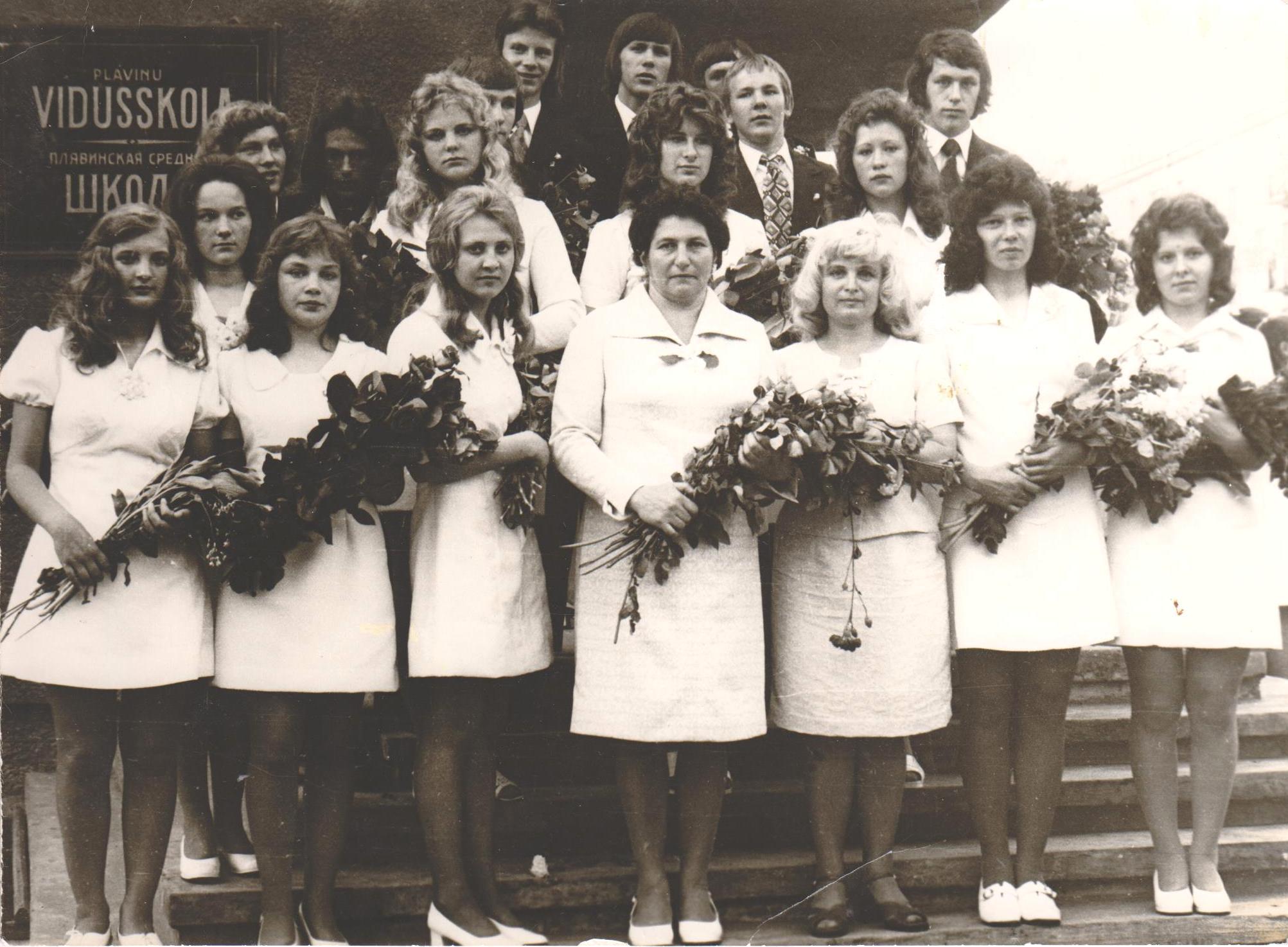 1976.gads kl.audz. Sofija Tarāne