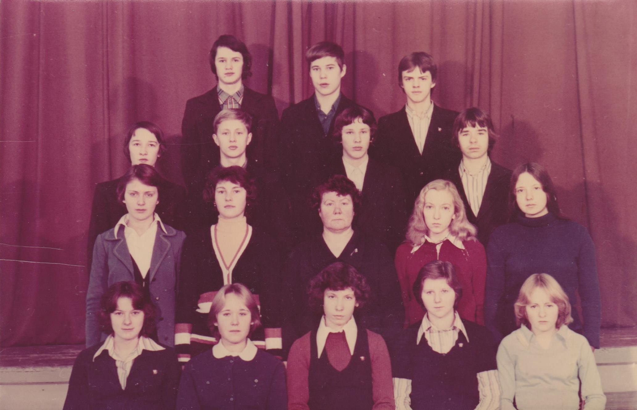 1980.gads 10.c kl.audz. Gaļina Kisļakova