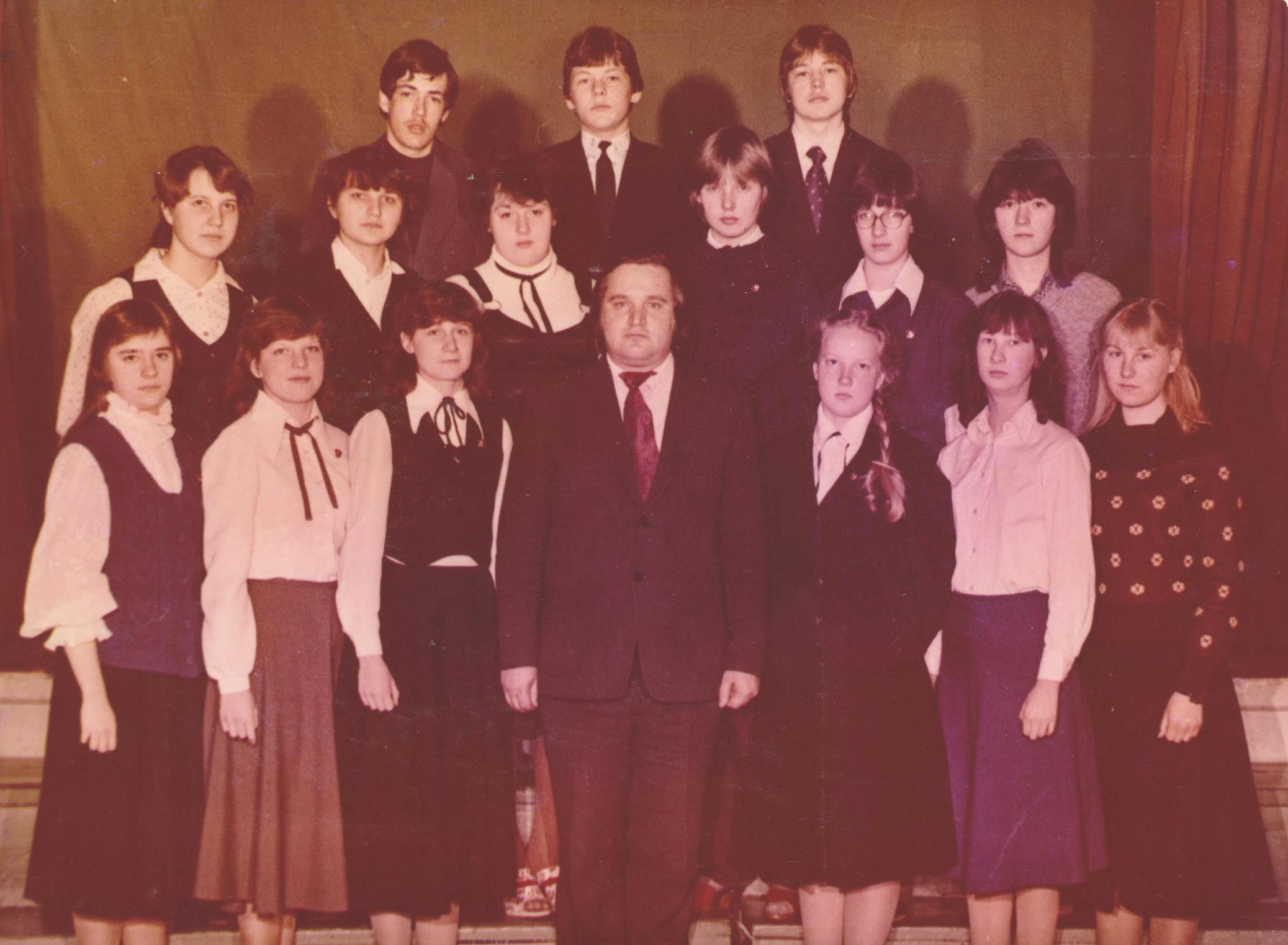 1983.gads kl.audz. Māris Siliņš