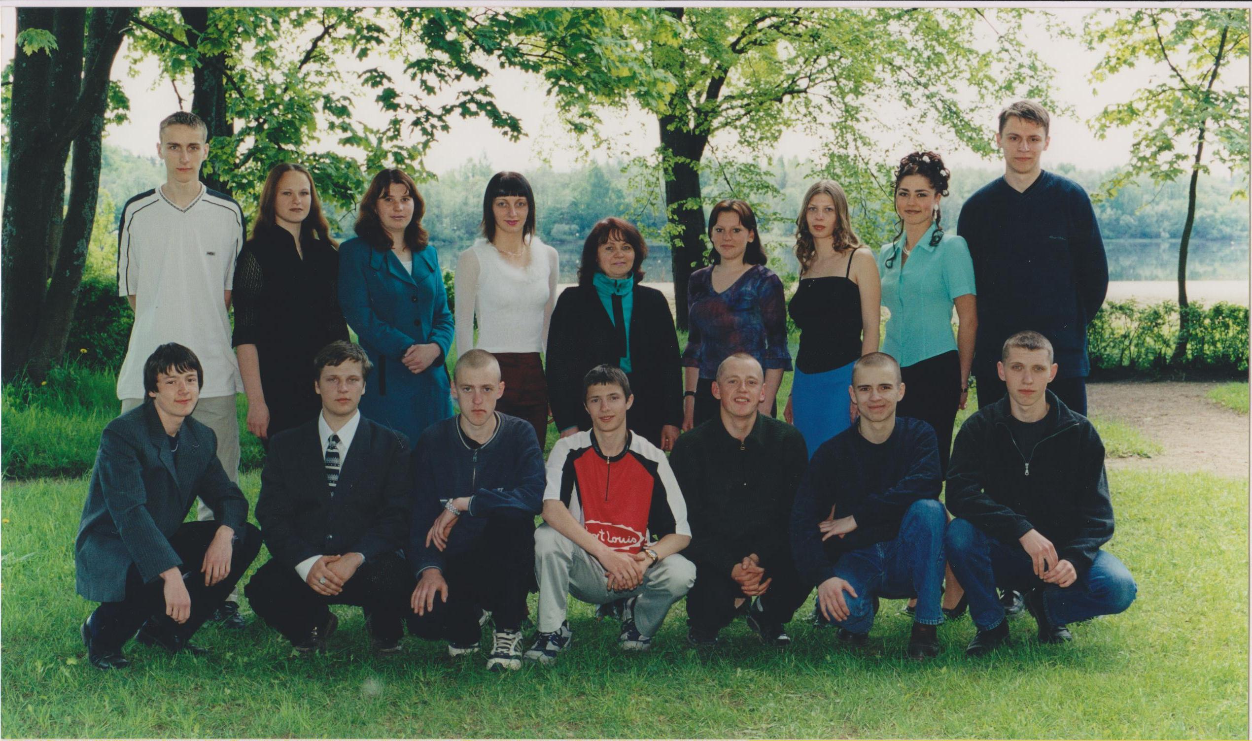 2001.gads kl.audz Tatjana Starčenko