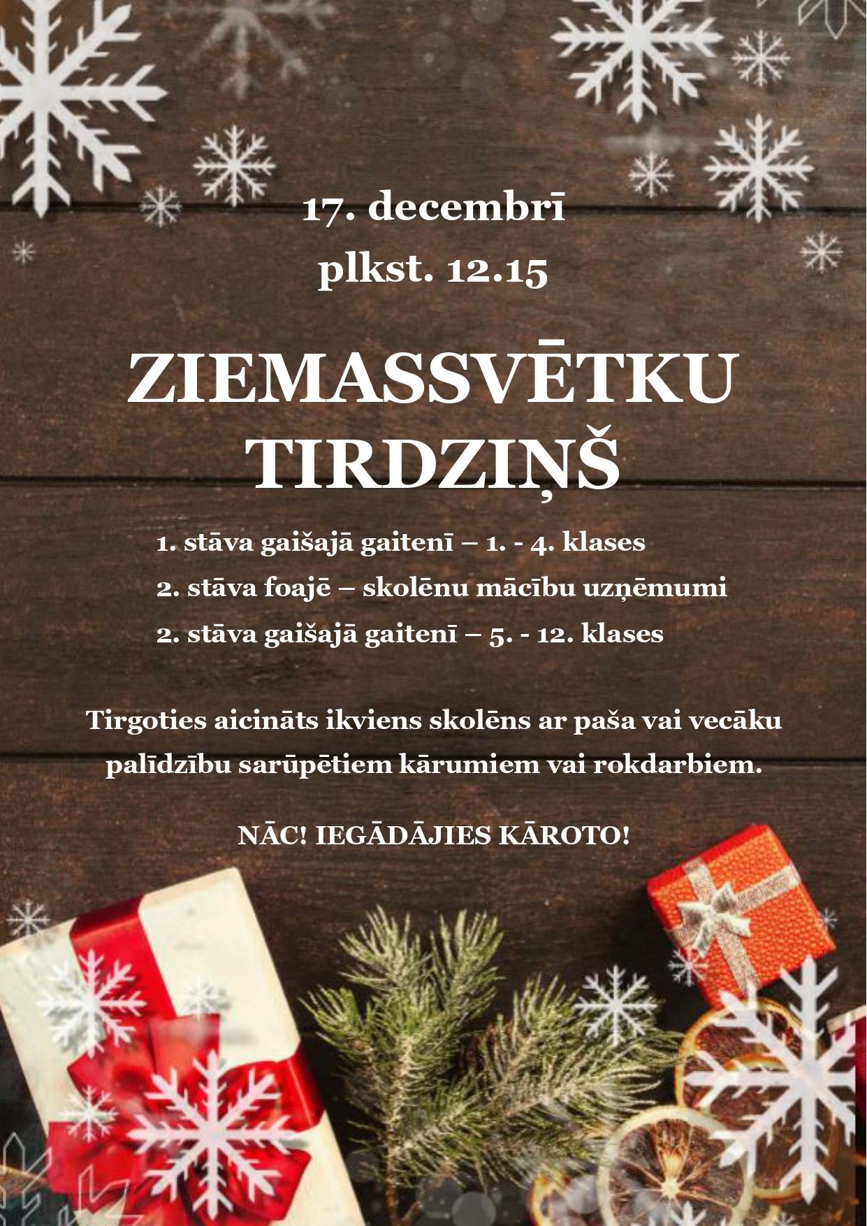 AFISA-ZIEMASSVETKU-TIRDZINS