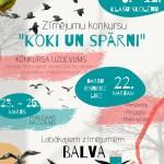 LVM Kalsnavas arboretuma zimejumu konkurss