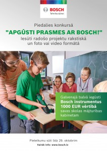 Apgūsti prasmes ar Bosch